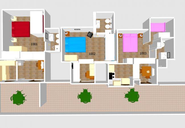 Апартаменты на Ponza - Turistcasa - I Conti 1001 -
