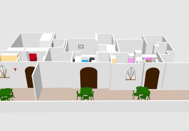 Appartement à Ponza - Turistcasa - I Conti 1002 -