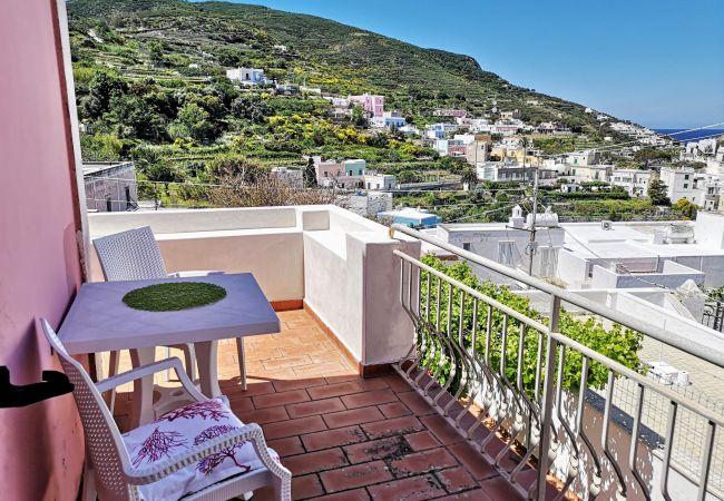 Chambres d'hôtes à Ponza - La Maison Fiorita - camera Le Coppe -