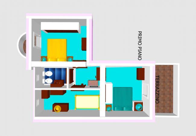 Villa in Ponza - Turistcasa - Fontana 78 -